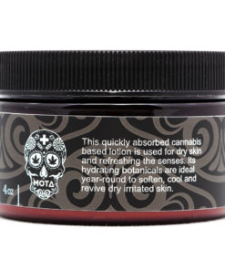 back of product packaging jar