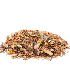 pile of tea leaves and condiments