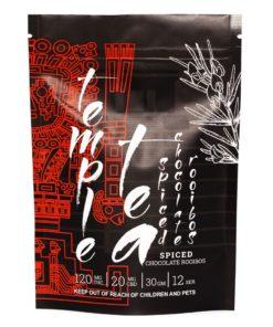 black and red packaging for tea